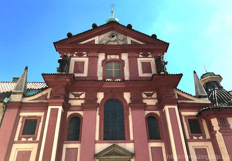 聖イジー教会 西ファサード