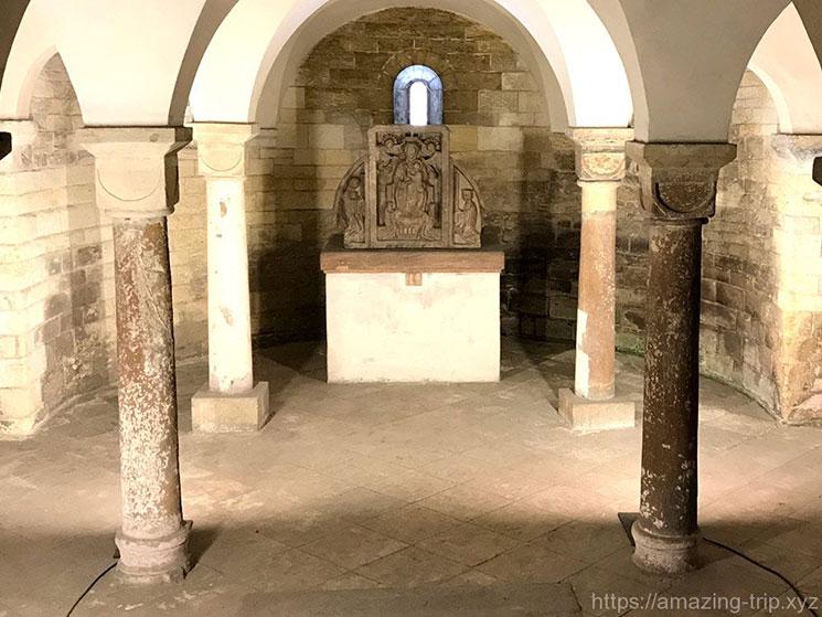 聖イジー教会 地下礼拝室