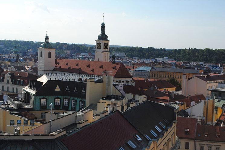 火薬塔から見える旧市街側の景観2