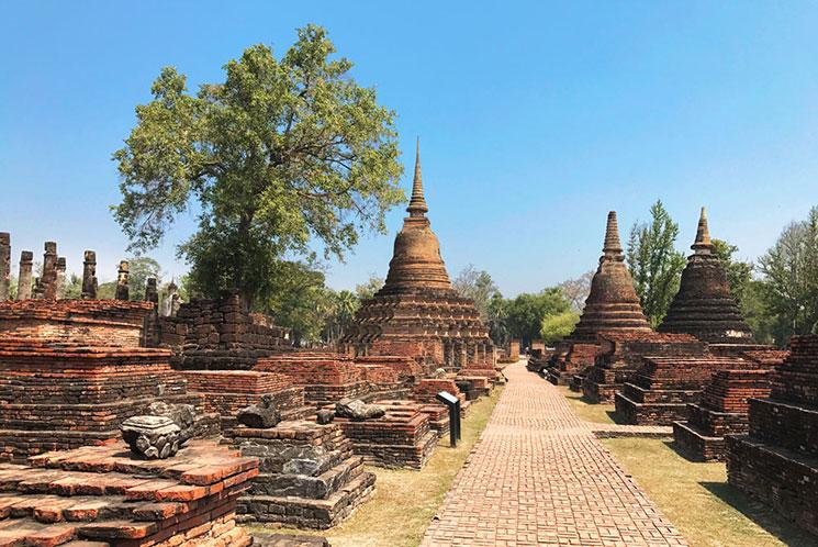 【ひとり旅】バンコクからスコータイ歴史公園への移動方法(飛行機編)