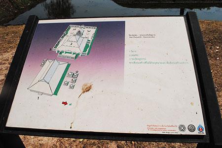 「ワット・チェットポン」の全体図と現在地