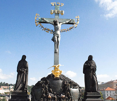 ブロンズの十字架