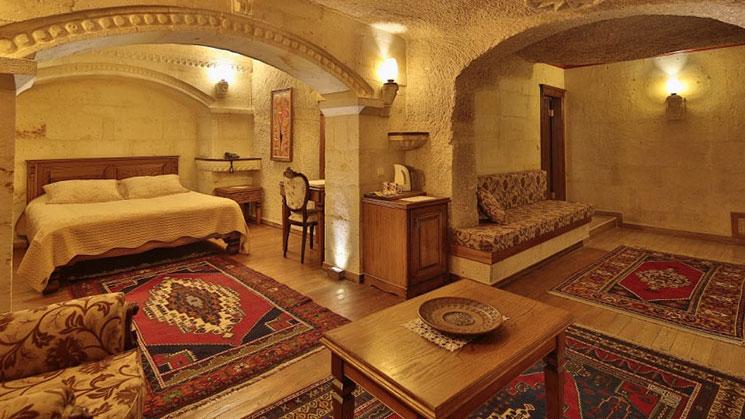 ストーンハウスケーブホテルの部屋