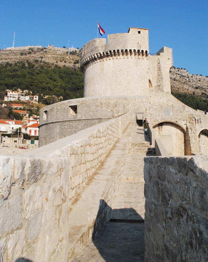 ミンチェッタ要塞の外観