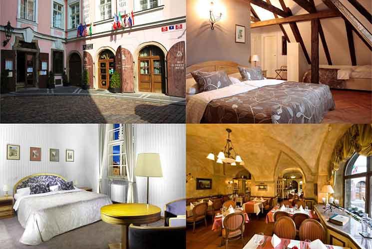 ホテル ポッド ヴェジの外観と部屋の画像