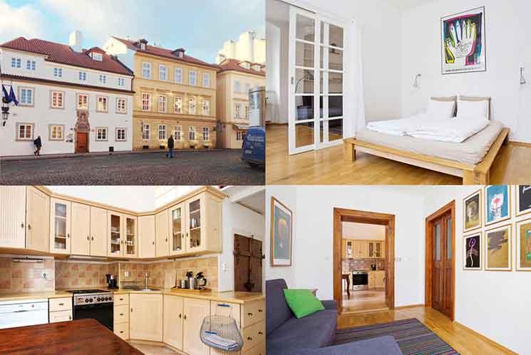 アパートメント U ハロズノの外観と部屋の画像