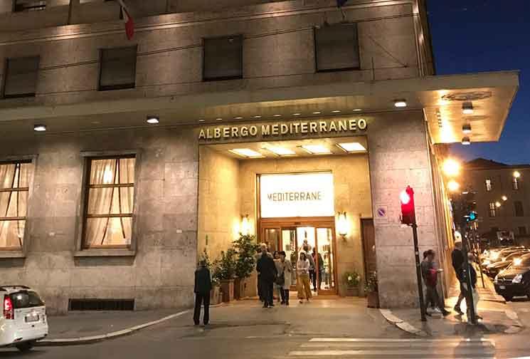 ベットーヤ ホテル メディテラネオの外観