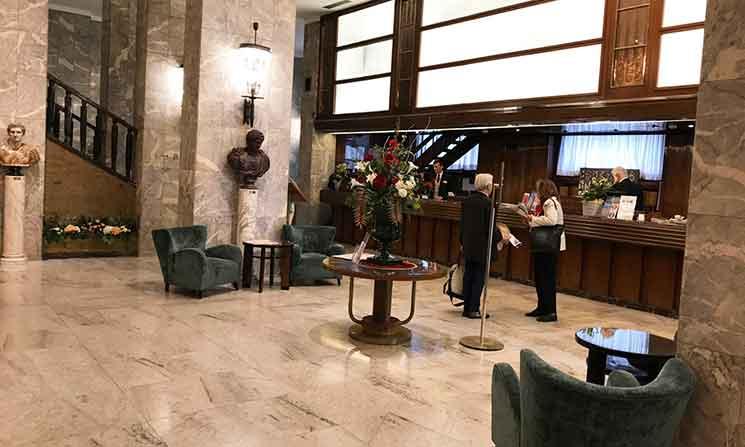 ベットーヤ ホテル メディテラネオのホテルロビー