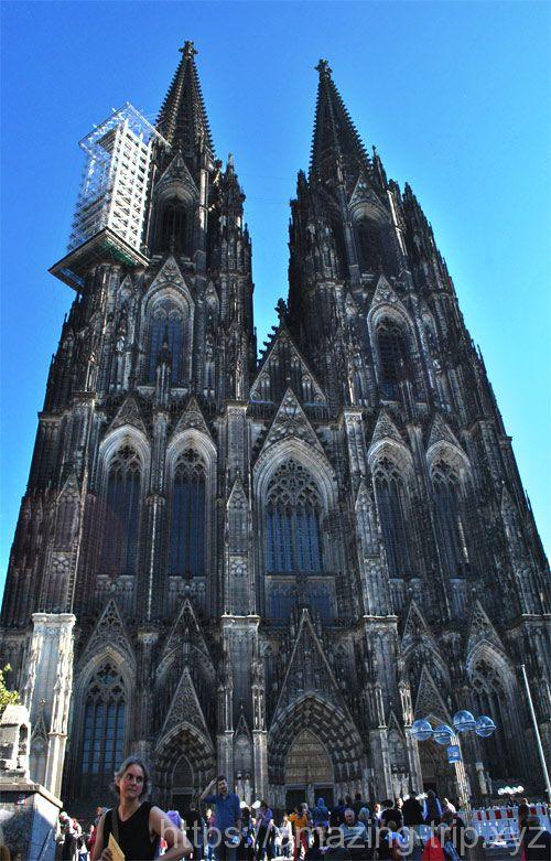 ケルン大聖堂 西側のファサード