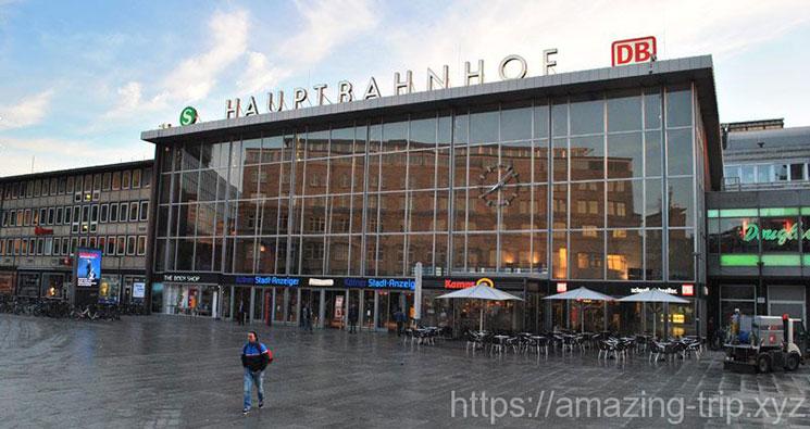 ケルン中央駅の外観