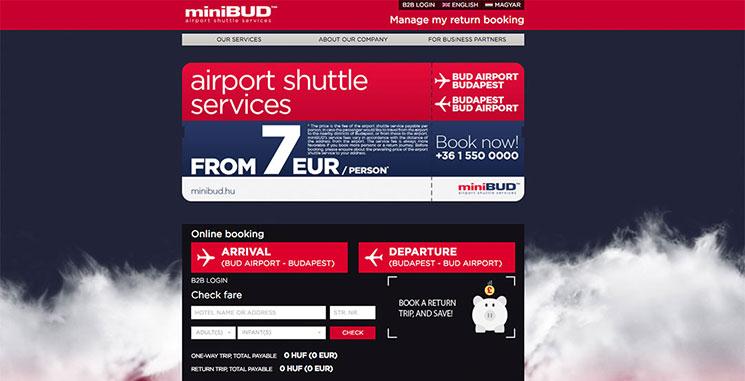 miniBUDのWEBページキャプチャー画像