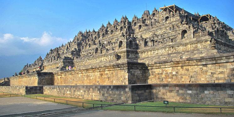 ボロブドゥール寺院の外観