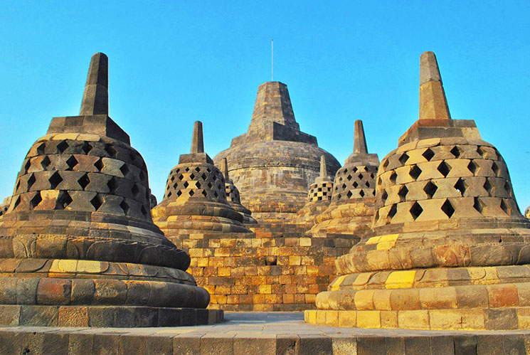世界遺産ボロブドゥール寺院