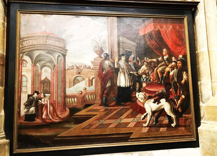 ネポムツキ―殉教の絵