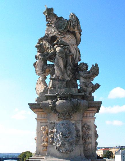 聖ルドミラと聖ヴァーツラフ