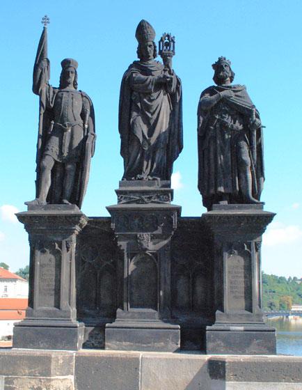 聖ヴァーラフ、聖ノルベルト、聖シギスムント