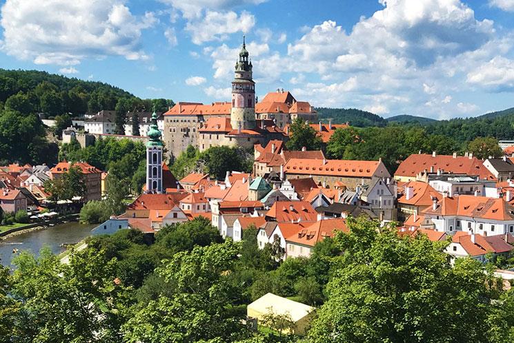 チェコの世界遺産 チェスキークルムロフ