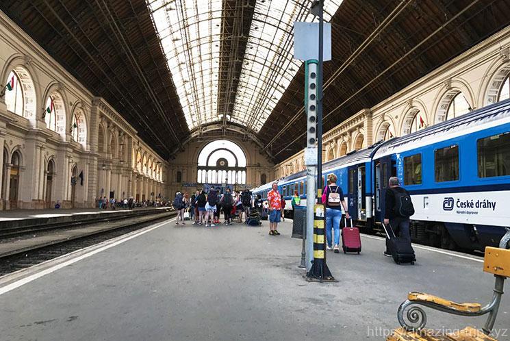 ブダペスト東駅の写真