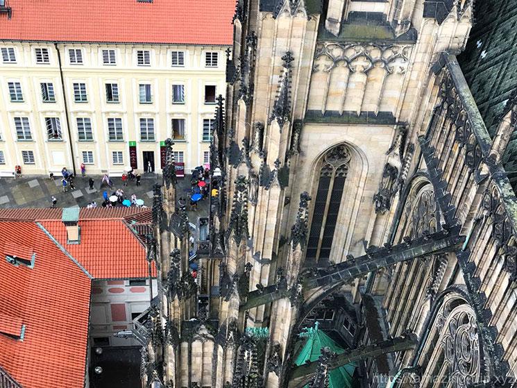 聖ヴィート大聖堂 南塔からの景観