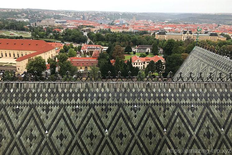 南塔から見る北側の景観