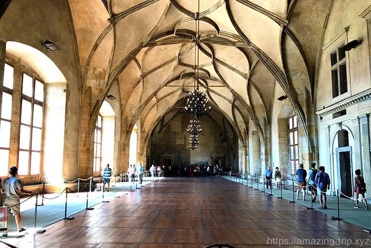 プラハ城内「旧王宮」