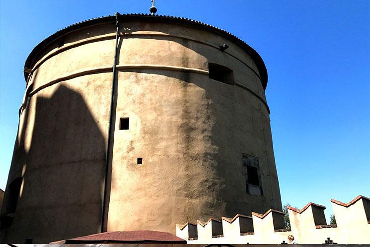 プラハ城内 火薬塔