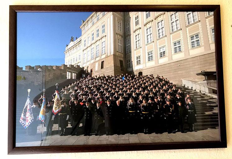 衛兵の集合写真