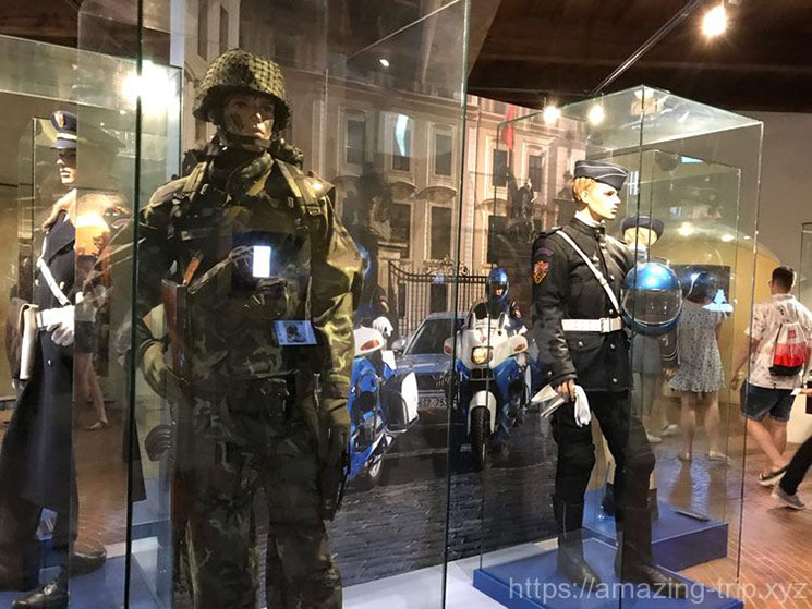衛兵の軍服
