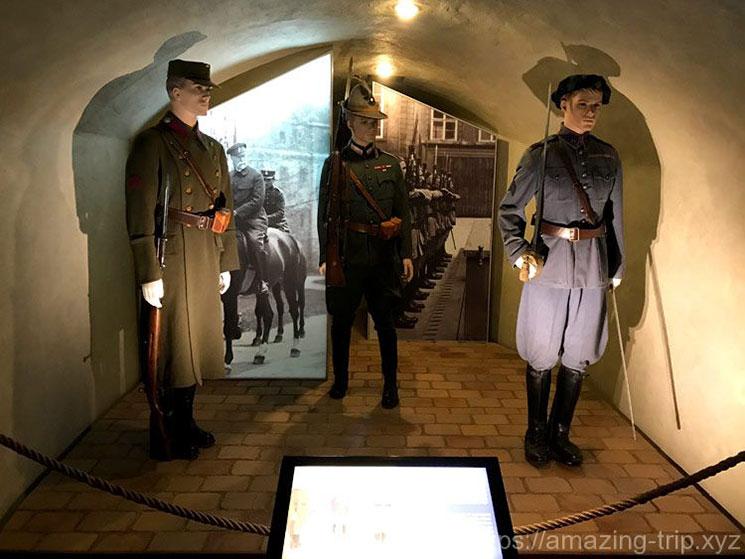 衛兵の制服