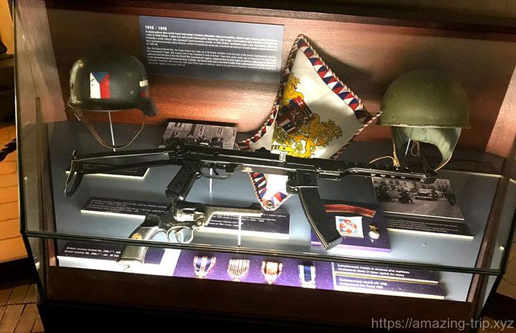 1945年から1948年に衛兵が使用していた武器類