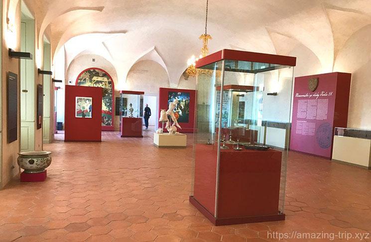 ロジュンベルク宮殿内部の様子