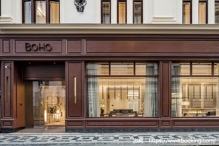 BoHo プラハ ホテル