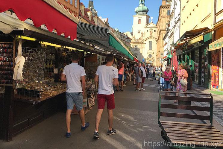 ハヴェルスカ―市場の景観