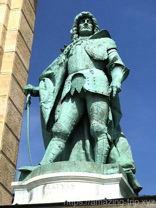 マーチャーシュ1世の像