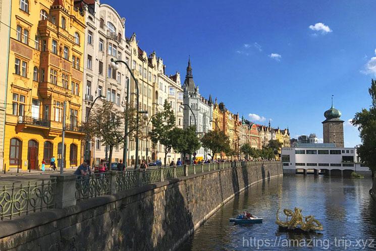 プラハ旧市街の街並み