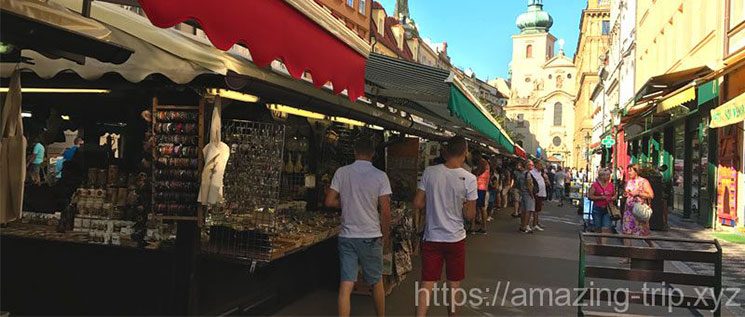 ハヴェルスカー市場の景観