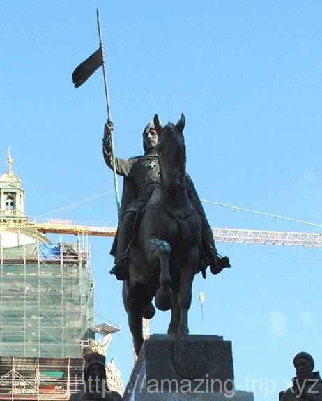 聖ヴァーツラフの騎馬像