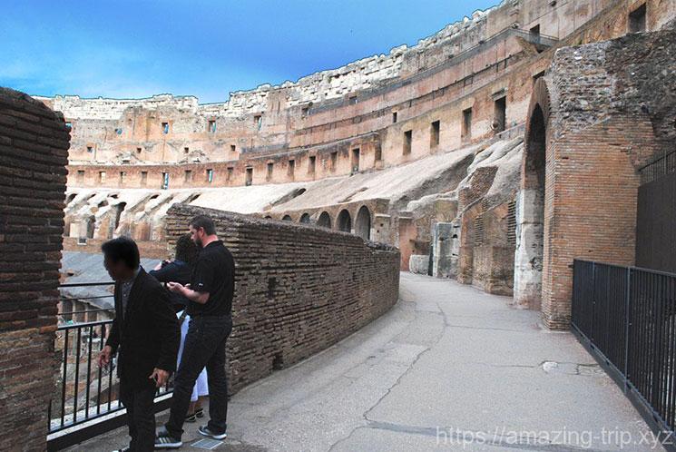 コロッセオ内部の景観