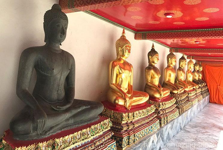 ワットポーの仏像