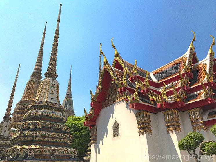 ワットポー 寺院内の景観