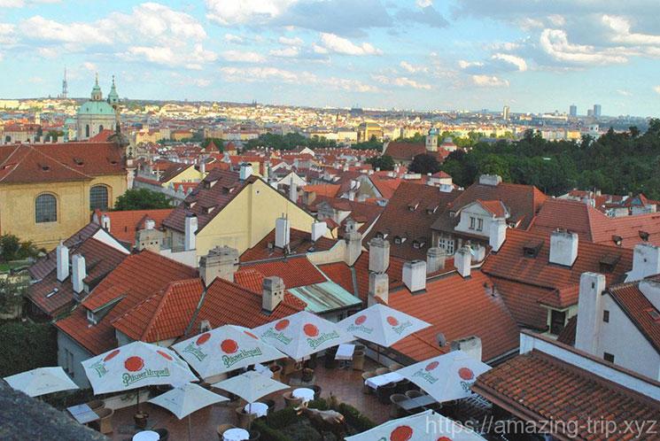 プラハ 旧市街の街並み
