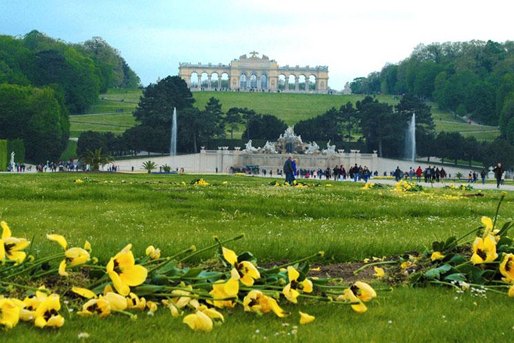 ウィーン シェーンブルーン宮殿