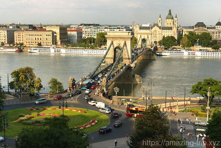 ブダペスト 鎖橋の外観
