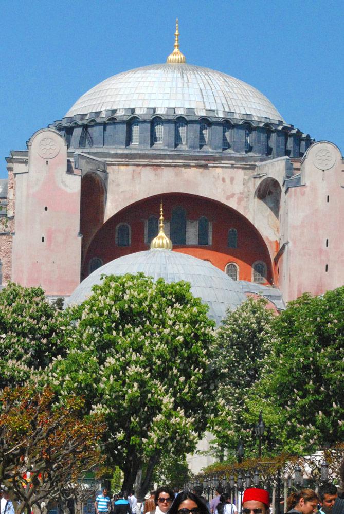 アヤソフィアのドーム天井
