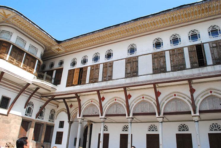 ハレムの寵妃達が暮らしていた建物