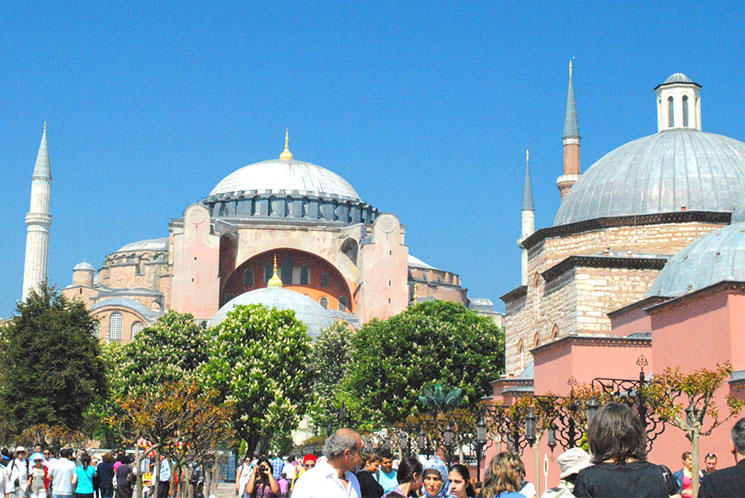 イスタンブール アヤソフィアの外観