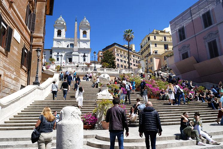 スペイン階段の景観