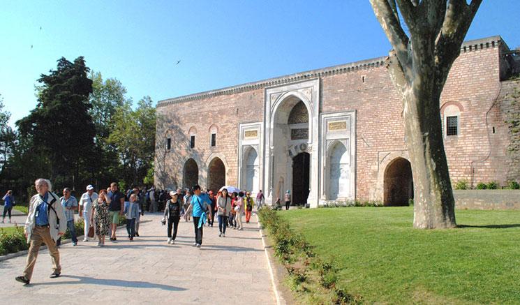 トプカプ宮殿の入口