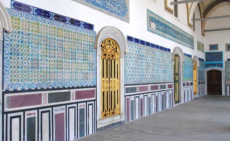 トプカプ宮殿 ハレムの景観