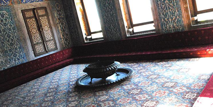 ハレム内部「皇太子の部屋」